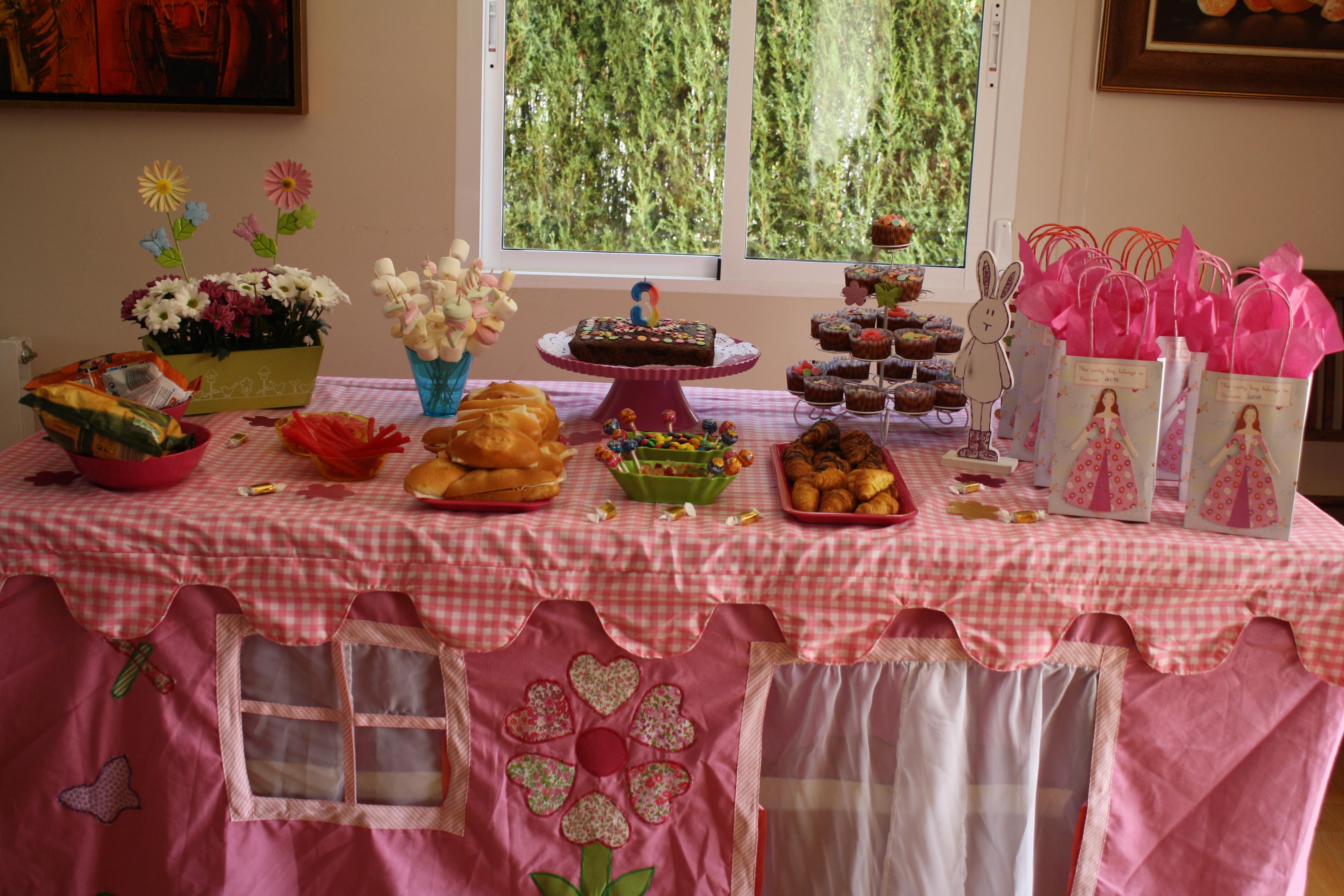 Fiesta cumplea os para ni as peque as bubblykido - Ideas para cumpleanos 10 anos ...