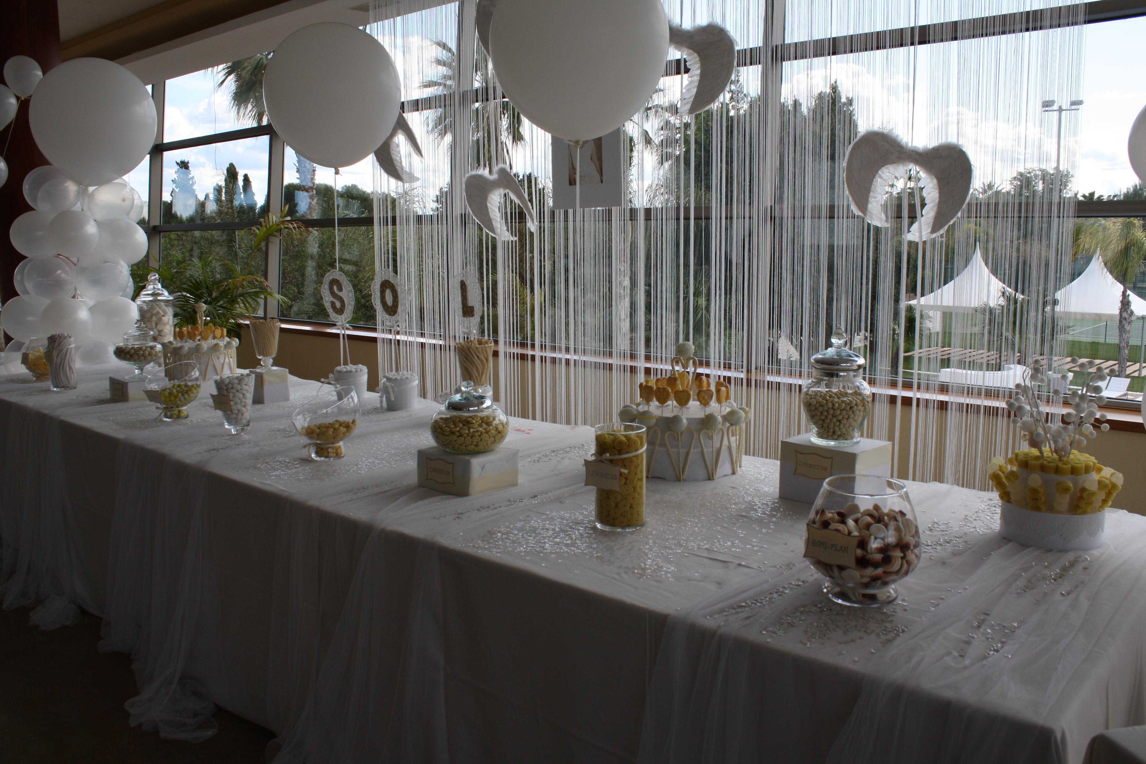 Primera comuni n bubblykido for Fiestas comunion decoracion