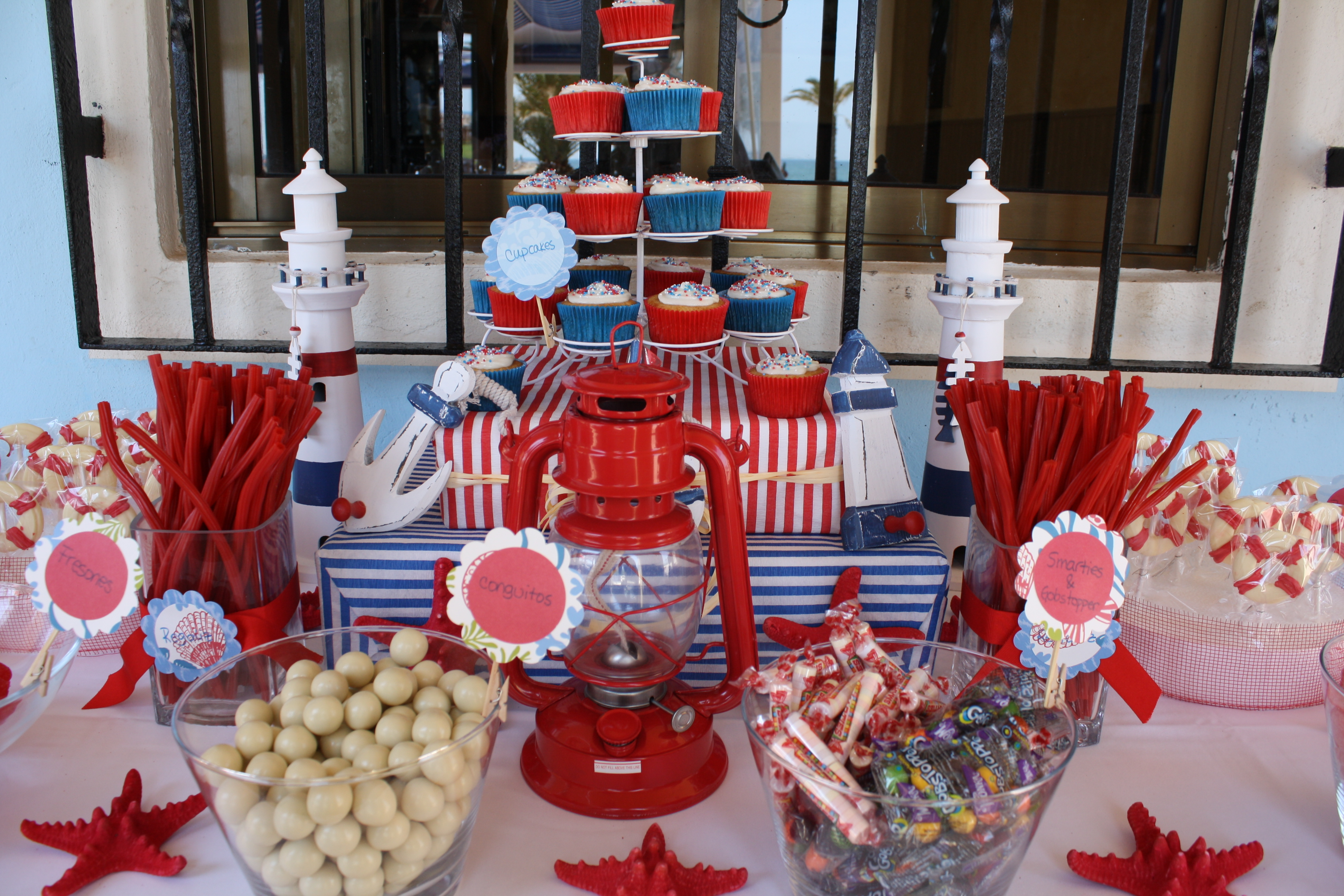 Fiestas que inspiran bubblykido for Mesa dulce marinera